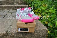Женская баскетбольная обувь 2013 new pink grey color air yeezy 2 nrg retro women fashion shoes kanye west baseketball shoes for sale size eur 36~39