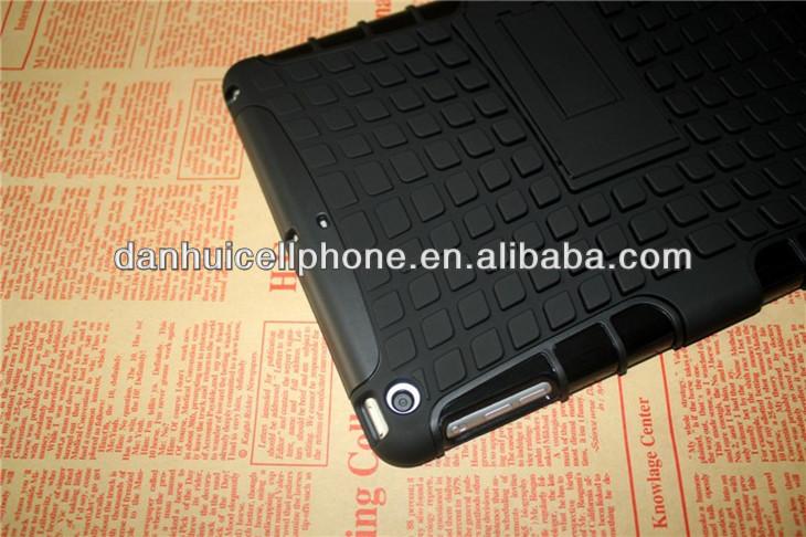 block case for ipad air /mini 2 kickstand combo case