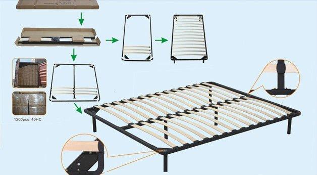 wooden slats for metal bed frame 2