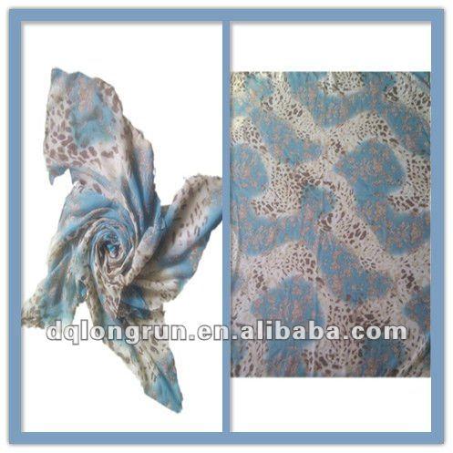 Animal print fashion scarf 2012-2013