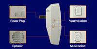 Дверной звонок Forrinx   Power Source AC , 110 220 ,  1 + 1 1G1