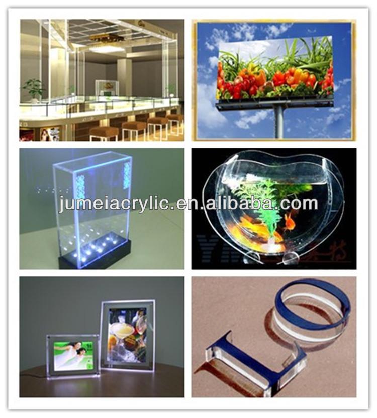 excellent jumei feuille transparente en verre acrylique prix