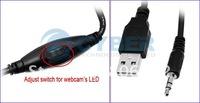 30.0 Mega 6 LED USB Webcam Web Cam PC Camera with Mic Freeshipping