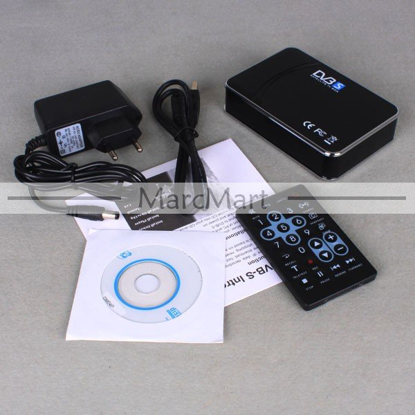 USB Digital Satellite DVB-S SDTV HDTV TV Tuner Receiver Box for PC AU Plug + Retail Box #EC308
