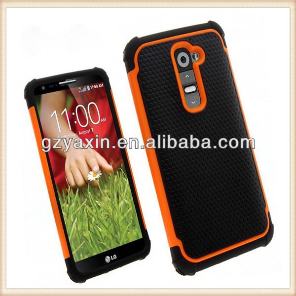 Football team phone case,robot combo case for LG Optimus G2