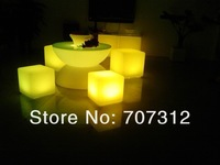 lighting bar table , glowing tea table   luminous coffee  hourse  , wedding decoration, nightclub 66*66*22CM