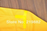 Мужская футболка для футбола Soccer shirt uniform 13/14 Juventus away yellow 13/14 football shirt