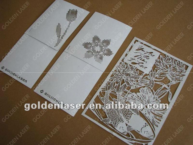 Greetingweddinginvitation card paper laser cutting machine price 800 169 stopboris Images