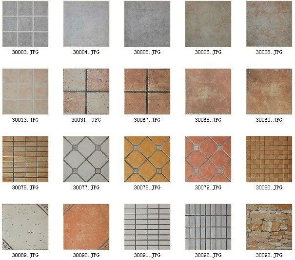 Ceramic Copper Floor Tiles Standard Size 12x12