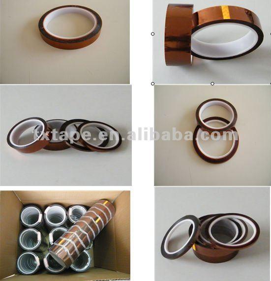 Anti-static polyimide capton film/polyimide tape KPT25/50-031