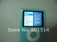"Discount Brand New 16GB MP3 MP4 Player 6 colors 1.8"" TFT FM radio Gift:silicone case for ipod NANO"