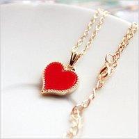 Цепочка с подвеской fashion elegant exquisite heart-shape necklace jewelry X4303