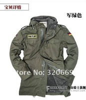 Free shipping 2012  511Outdoor detachable bladder camel hair coat, breaking  warm both times charge clothes, 8308
