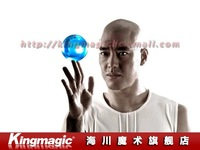 Игрушка для фокусов 100MM Clear Crystal Ball/ light crystal ball/ contact juggling/with good package/ magic props