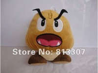 New Super Mario Bros Goomba Plush Doll Soft Toy  7inch 18cm Retail