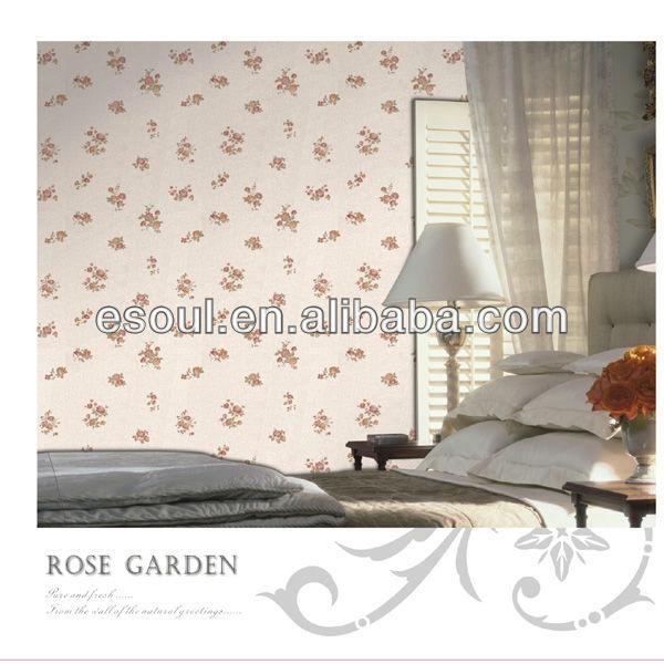 2013 hot sales embossed ESOUL design PVC wallpaper
