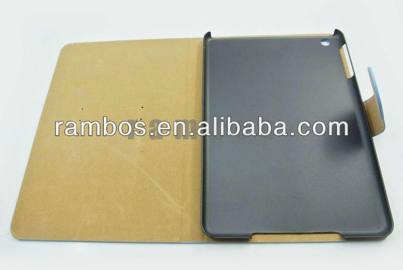 For iPad mini PU Leopard Smart case 7.9
