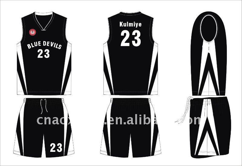 Basket uniforme su misura maglia per gli uomini
