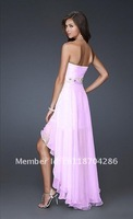Free shipping 2012 sex Bridesmaid maxi Party Evening Cocktail wedding dresses pink black blue white red