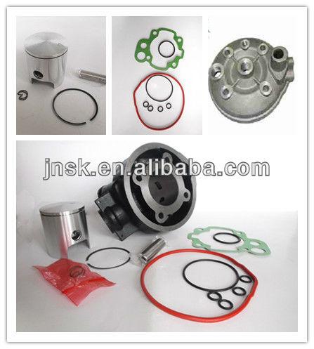 Minarelli AM6 kit cilindro 50cc, 70cc minarelly alumínio cylinder40.3mm, 47 mm