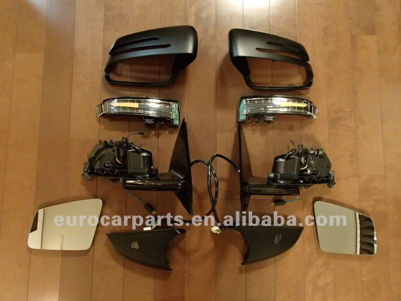 side mirrors, rear view mirrors, facelifted mirrors for BENZ S-CLASS W221 10y style 09~12