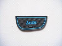 2010-hyundai ix35 высокого качества силикагеля ворота слот pad, чашка коврик, коврик не скользит gg