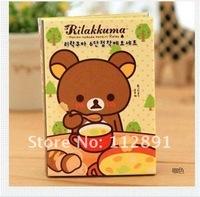 Блокнот для заметок cute Rilakkuma 6 fold memo sticker / Note Memo B859