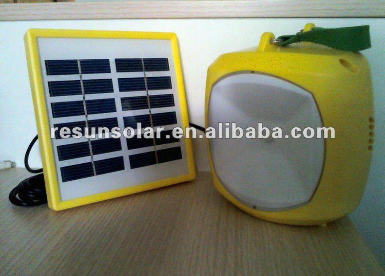 solar lantern yellow