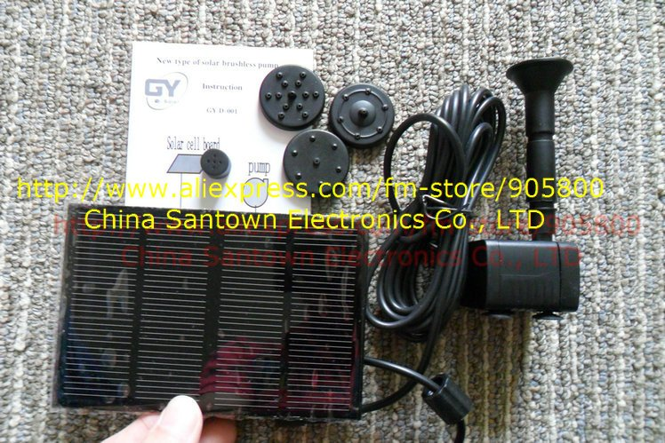 40pcs Solar Water Pump Solar Fountain