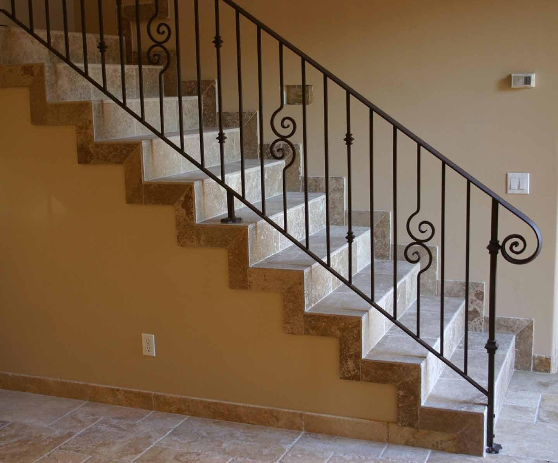 Barandas de hierro forjado para escaleras imagui - Baranda de hierro ...