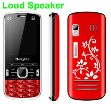 Q6 spreadtrum 6530 dual sim quad band phone