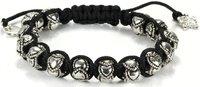 Браслет из бисера 2012 Tresor Paris bracelet, New Tresor Paris silver charm bead shamballa bracelet
