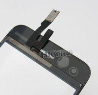 ЖК-дисплей для мобильных телефонов Black Touch Screen Digitizer+Adhesive for iPhone 3G B0011+E4001