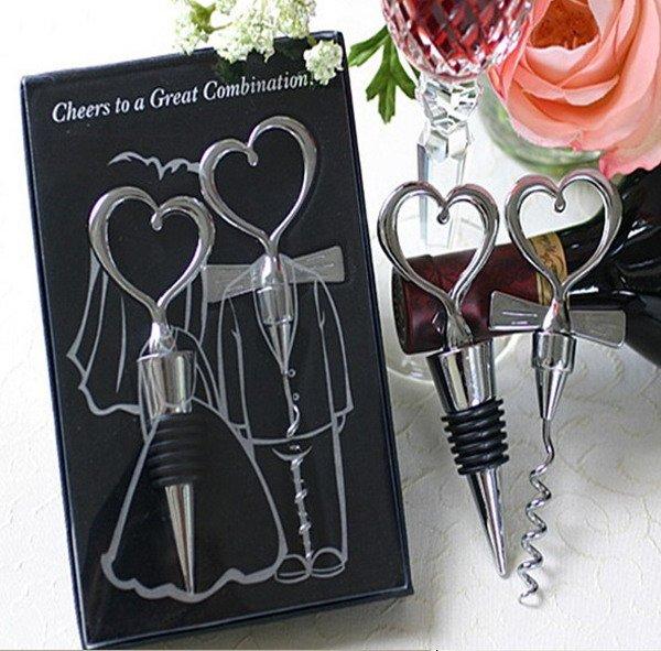 Wedding Favors Wine Set Favor Wine bottle plug Stoppers Bottle opener