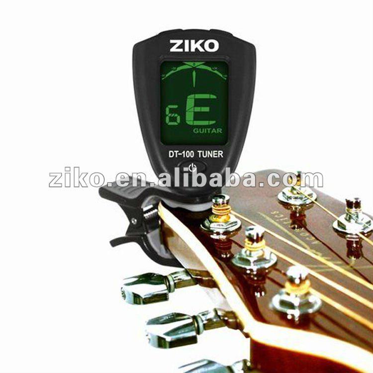 Num rique instrument de musique guitare accessoires dt 100 tuner pour guitare - 100 pics solution instrument de musique ...