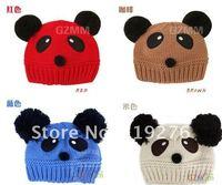 Головной убор для девочек CH 15 $150! panda,  7 babyhat147