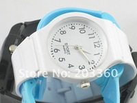 Наручные часы 20pcs/lot simple Women Plastic Sweet Sport Watch Quartz