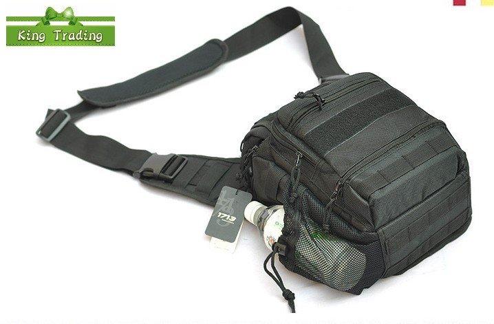 Multil -purpose Sport Army Waist Bag/ Professional Camera Bag / Fashion DSLR Camera Bag / Black