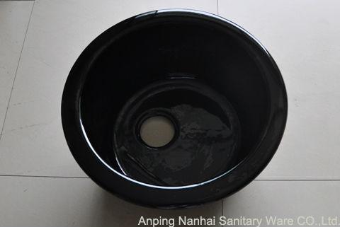 Black Round Kitchen Sink : ... iron kitchen sinks/black round kitchen sinks/enamel cast iron sink