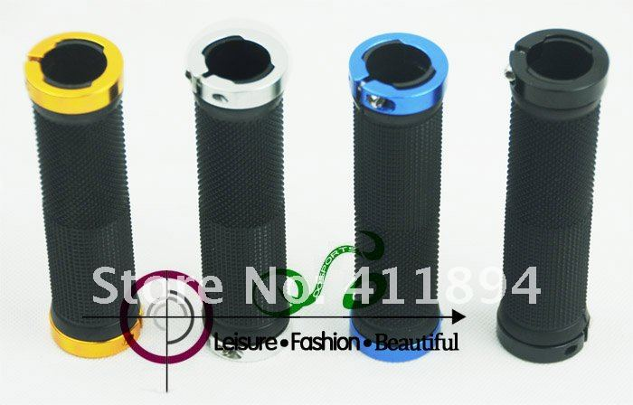 For Road Mountain MTB bike Bicycle Cycling LOCKING LOCK-ON BAR GRIPS Black