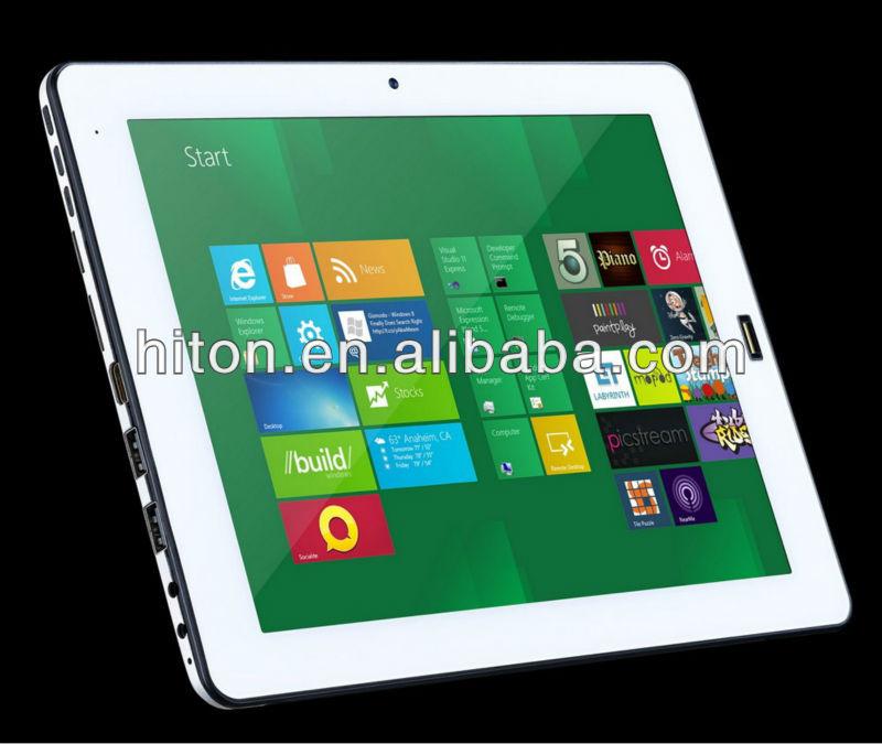 "Ultra silm design 9.7"" windows 8 PDA with dual cam"