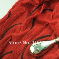 $8.11 New Fashion  for bright red pendant scarf  wholesale bright red pendant scarf SC-1465E,no shipping