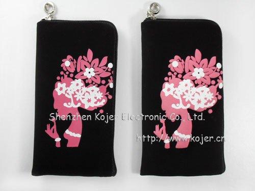 Latest Velvet Cell Phone Bag For Iphone 4