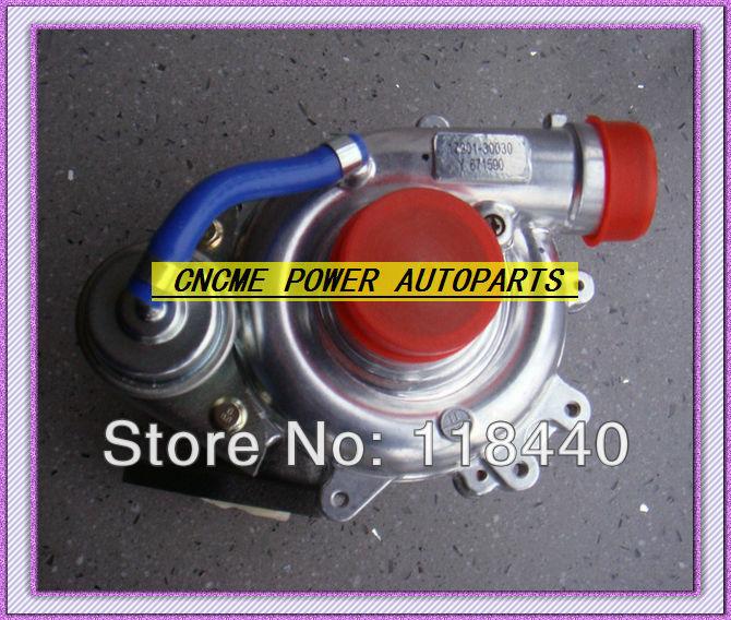CT16 17201-30030 oil cooled turbo Turbocharger Toyota Hiace Hilux 2.5 D4D 2001- 2.5L 102HP 2KD-FTV 2KD Turbocharger GASKETS (6)
