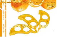 Нож для снятия цедры, кожуры Happy365 Creative home supplies Orange Opener Peeler Slicer Cutter Plastic 6pcs/lot