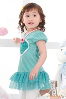 Комплект одежды для девочек NEW Baby Skirt, tutu baby girl dress, children/kids dress, Baby Wear
