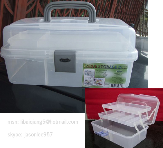 Transparent Tool Boxplastic Box Storage Caseg View