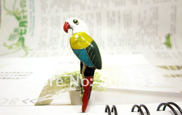 FREE SHIPPING Korean fashion rings,Wholesale  Jewelry -  color parrots double finger design rings 12pcs/lot