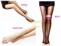 Женские колготки 6PCS/Lot Sexy Elastic Open Toe Ladies' Tights Fashion Pantyhose Stockings 3 Colors 6710