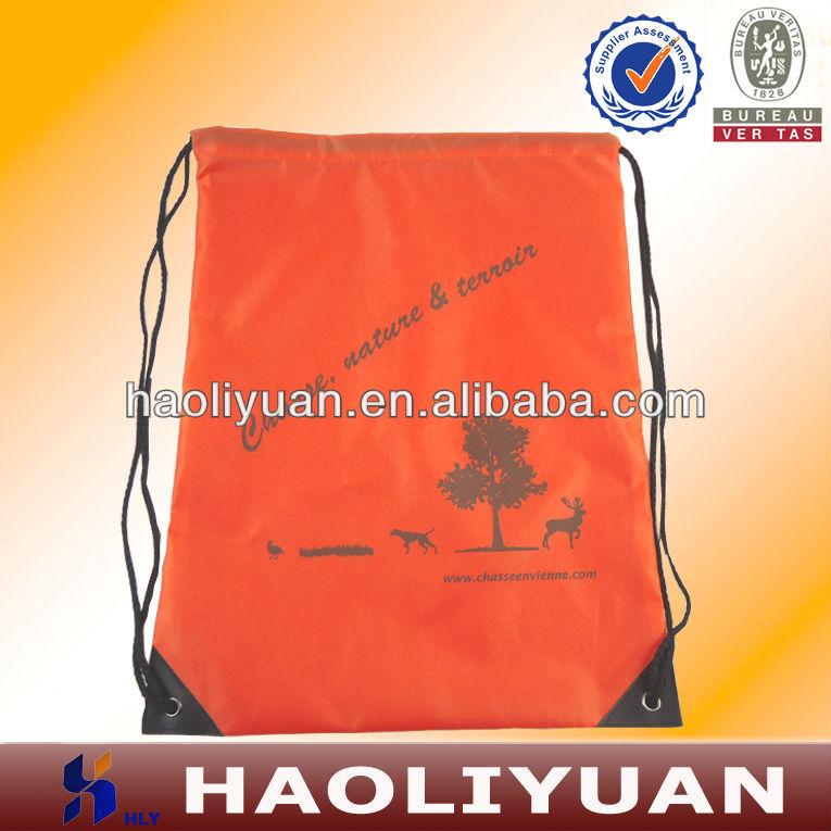 Polyester Drawstring Beach Bag For Outside